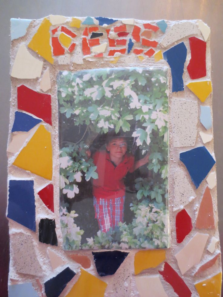 Mozaiek fotolijstje