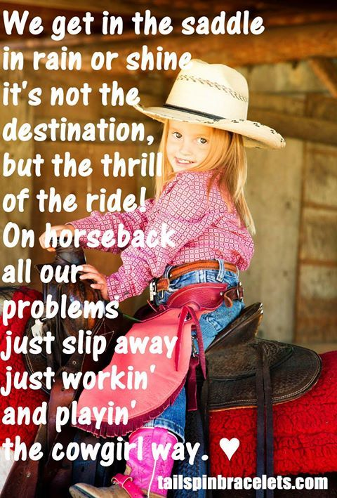 The Cowgirl Way!