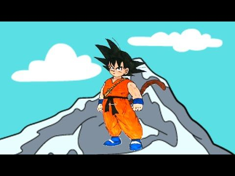 Goku Dragon Ball Z - Goku Pequeno Desenho Dragonball 2016 Portugues