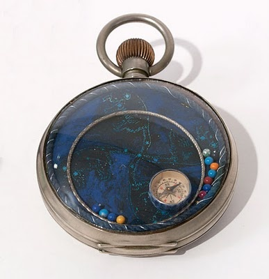 Pocketwatch by Joseph Cornell