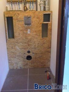 les 25 meilleures id es de la cat gorie habillage wc suspendu sur pinterest profondeur placard. Black Bedroom Furniture Sets. Home Design Ideas
