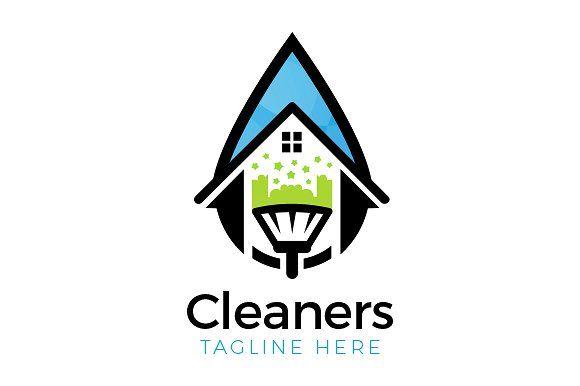 House Clean Logo Limpieza Limpieza Del Hogar Marca Personal