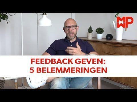 Feedback krijgen en geven - YouTube