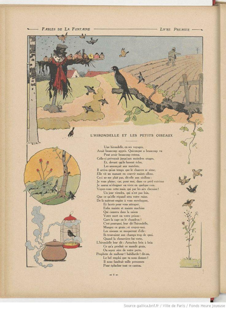 123 best benjamin rabier images on pinterest drawings of for Les petits oiseaux