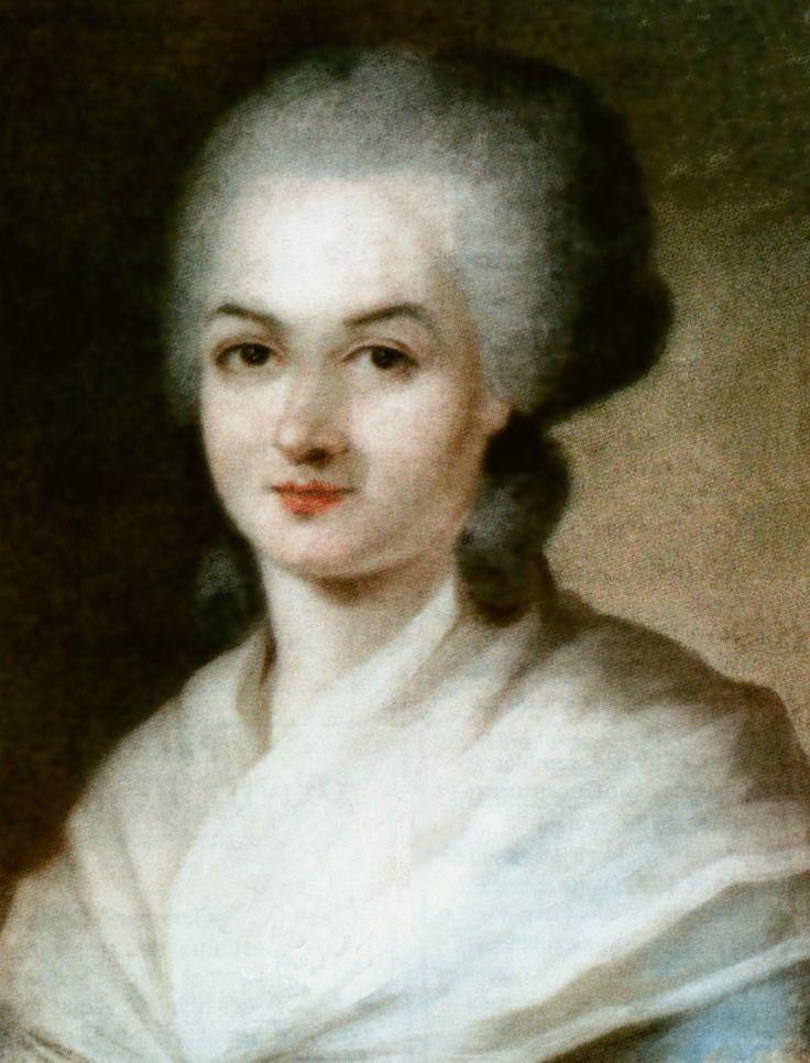 OLYMPE DE GOUGES (Montauban 1748 - París 1793) es el pseudónimo de Marie Gouze, escritora, dramaturga, panfletista y política francesa, autora de la Declaración de los Derechos de la Mujer y de la Ciudadana (1791). Reivindicó la igualdad de derechos entre hombres y mujeres en el marco de la Revolución Francesa, considerada precursora del moderno feminismo.
