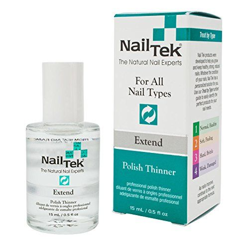 Nail Arts Nail Tek Extend Nail Polish Thinner .5 Ounce *** To view further for this item, visit the image link.