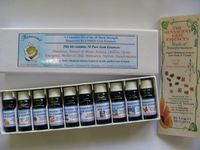 A set of Gem essences used in the RenascentCollege Gem Essence Correspondence Course