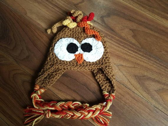 MADE TO ORDER Turkey Hat Turkey Day Thanksgiving Gag Gift