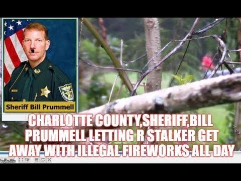 charlotte county,sheriff,bill prummell letting r stalker get