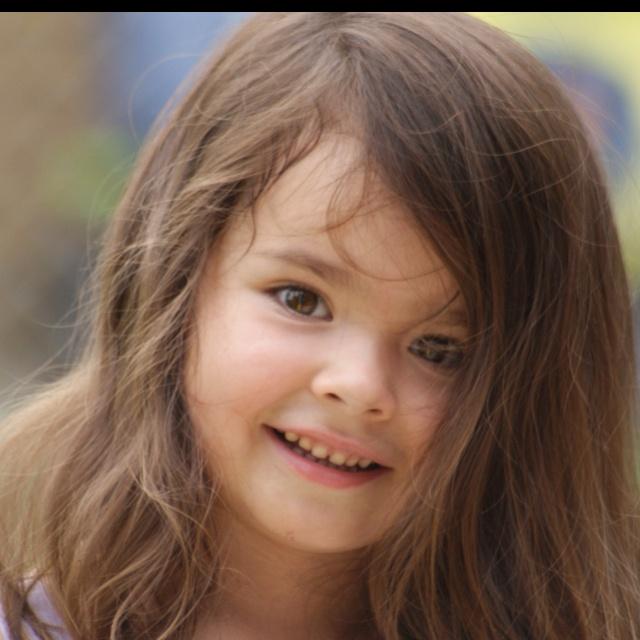 Granddaughter during summer 2011.