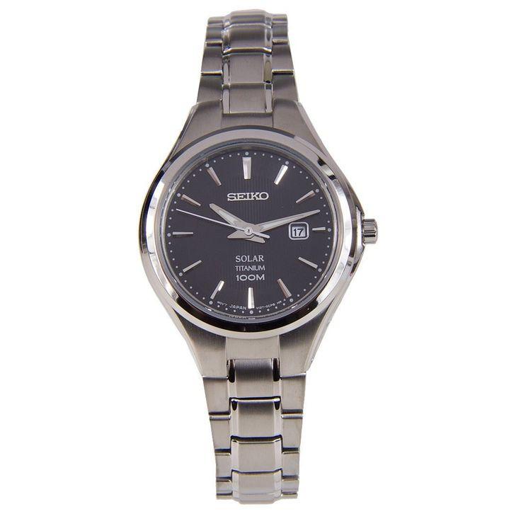 A-Watches.com - Seiko Titanium Solar Womens SUT201P1 SUT201 Dress Watch, $195.45 (http://www.a-watches.com/seiko-titanium-sut201p1)