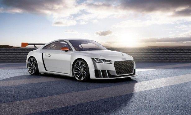 Cars - Audi TT clubsport turbo concept : 600 chevaux grâce à l'e-turbo ! - http://lesvoitures.fr/audi-tt-clubsport-turbo-concept/