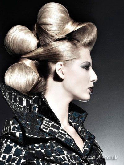 avante gard hair   2009 avant garde Hair Style Picture - qhs30893