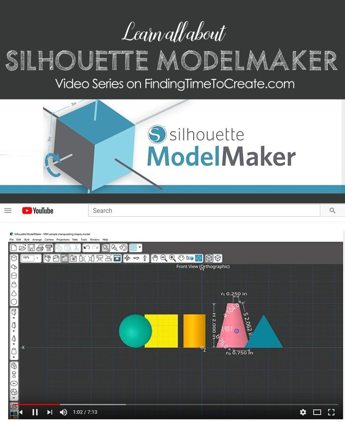 All About Silhouette ModelMaker | ATS-Model Maker Software