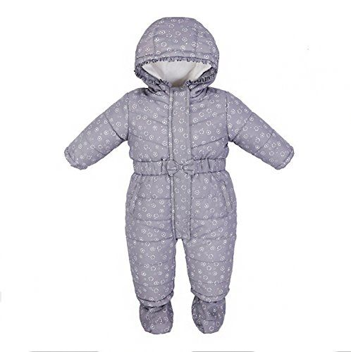 Baby Boys Girls Winter Warm Fleece Hooded Romper Jumpsuit Long Sleeve Hoodie Snowsuit Outfit 018 Months ** You can find more details by visiting the image link.Note:It is affiliate link to Amazon.