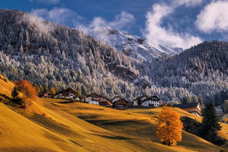Autumn in the Dolomites by TOMÁŠ MORKES on 500px
