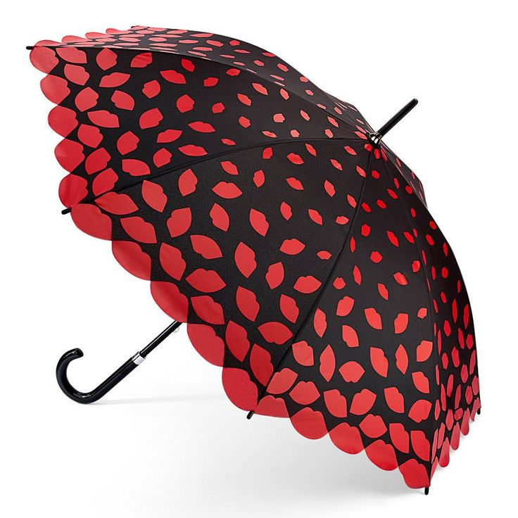 Lulu Guinness Lazer Cut Lips Walking Umbrella Lulu Guinness offer beautifully detailed designs guaranteed to turn people s heads ....