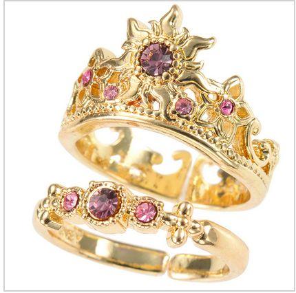 disney japan - tangled ring ♡