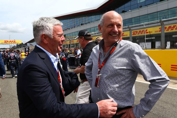 F1 British Grand Prix: Ron Dennis brands Eddie Jordan 'a village idiot' #F1 #RonDennis