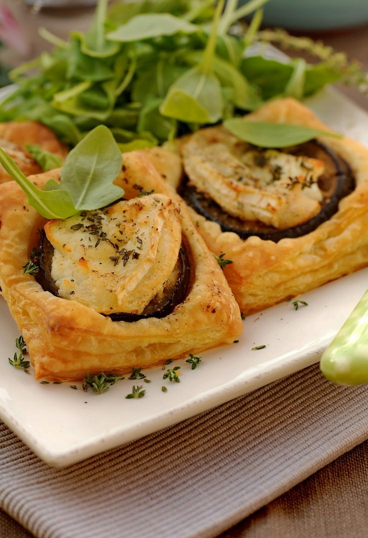 Eggplant and Goat Cheese Tart #goatvet Use my hints to increase your ...