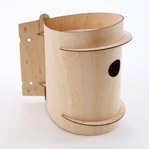 Mr Birdee Birch Ply Nesting Box