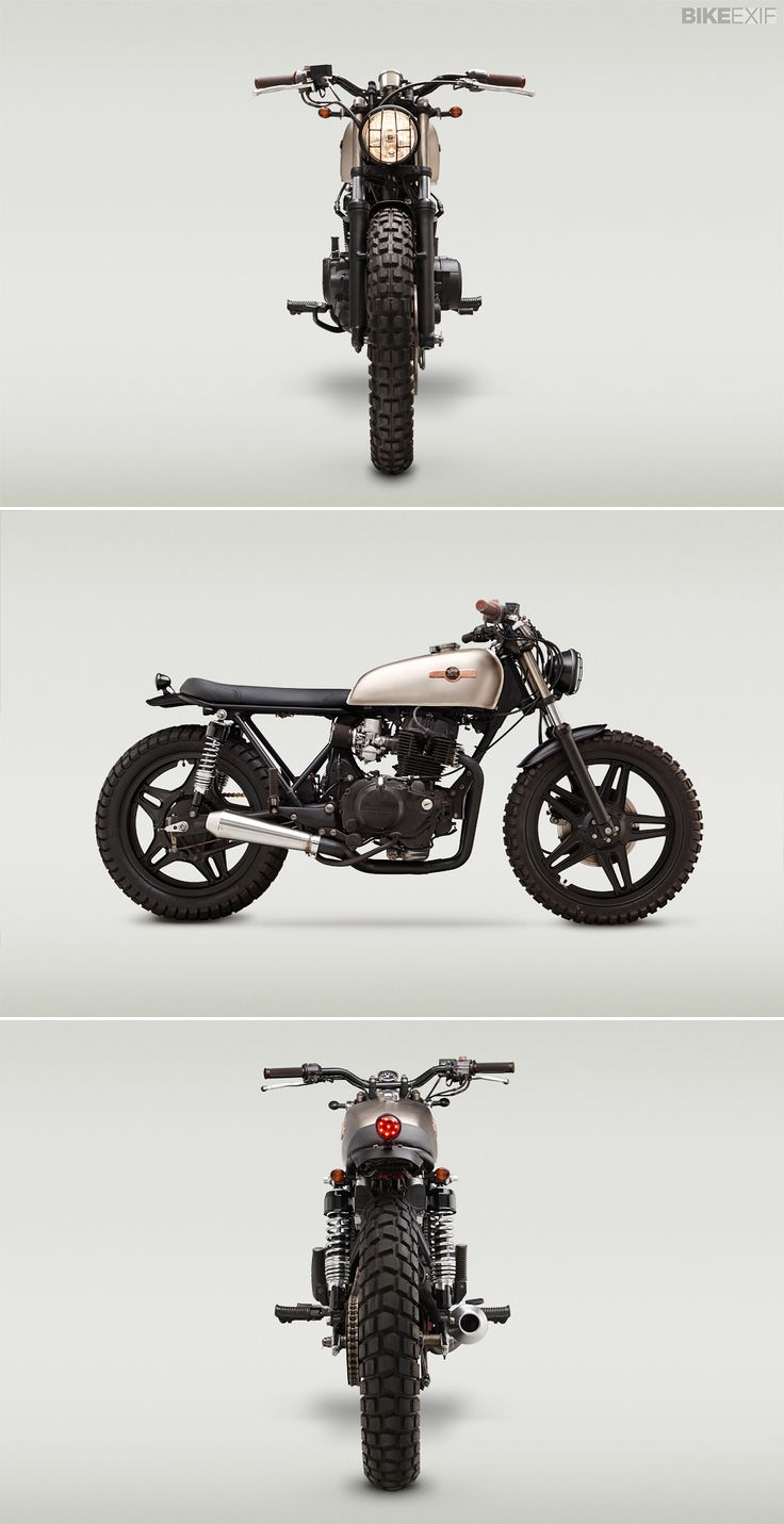 This rugged lil' Honda CB400T comes from the Richmond, VA-based builder Classified Moto.