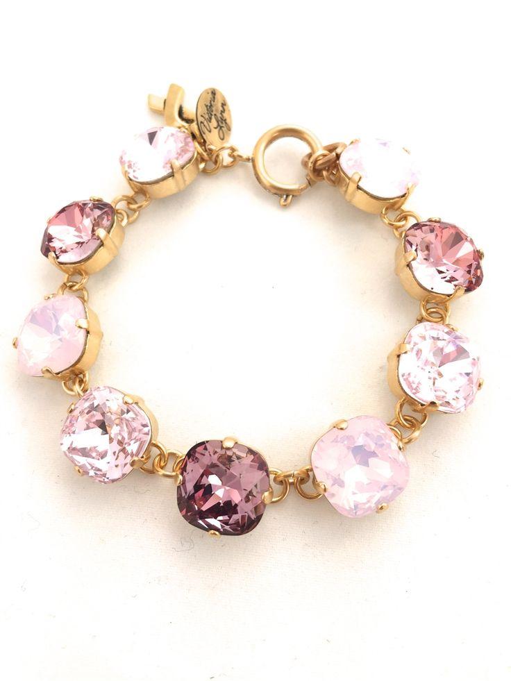 Bracelet - 12mm Square Awareness Line - Victoria Lynn Jewelry