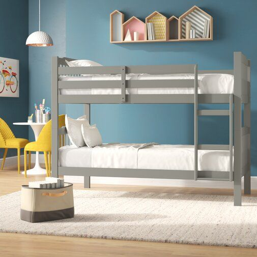 Theodore Twin Over Twin Bunk Bed Kids Room In 2019 Twin Bunk