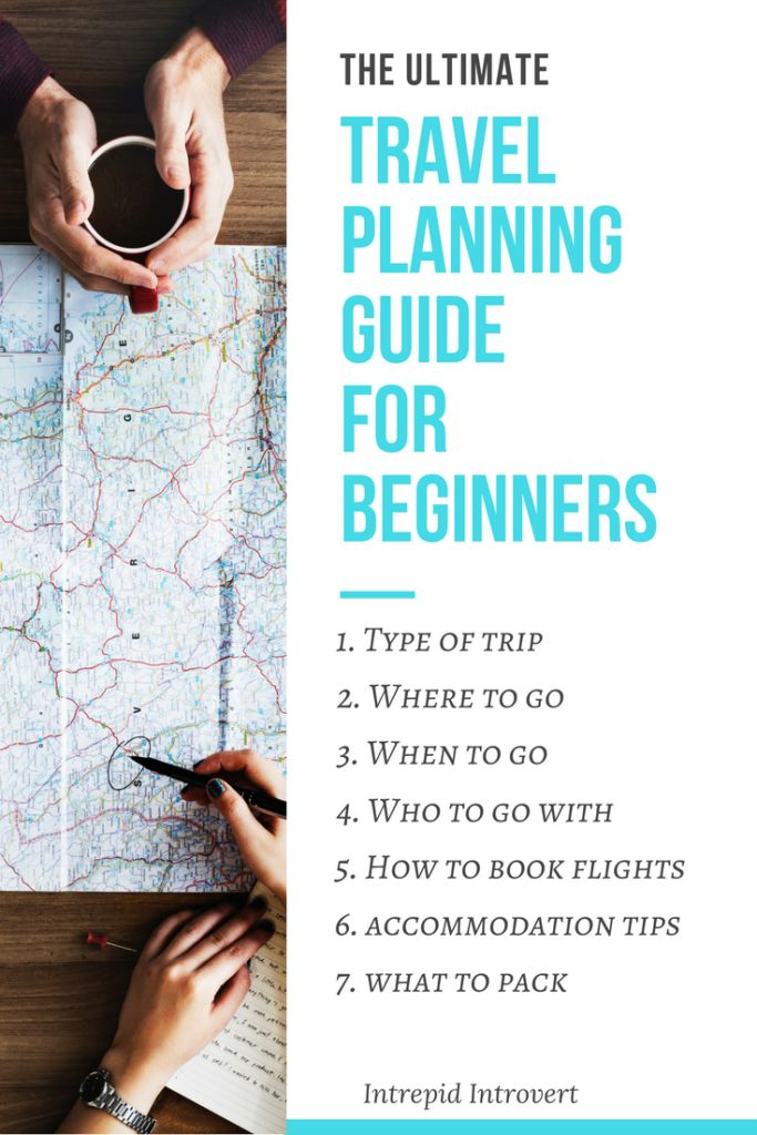 The Ultimate Travel Planning Guide For Beginners! Here's what you need to know!