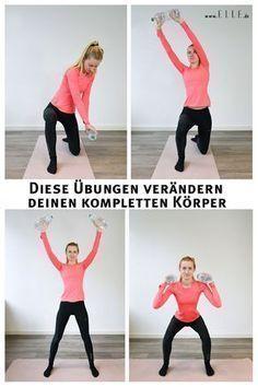 Diese zwei Bewegungen verändern deinen kompletten Körper