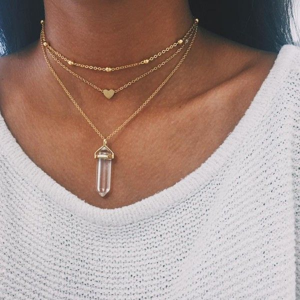 Gold Heart Chain Choker ($29) ❤ liked on Polyvore featuring jewelry, necklaces, gold choker necklace, charm necklaces, gold charms, chain choker necklaces and gold necklace