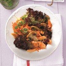 Oosterse salade met kip
