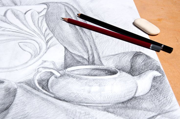 Developing Flawless Lines in Graphite | www.drawing-made-easy.com | #graphite #drawing