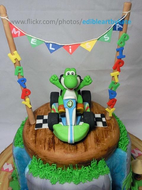 Yoshi cake love it