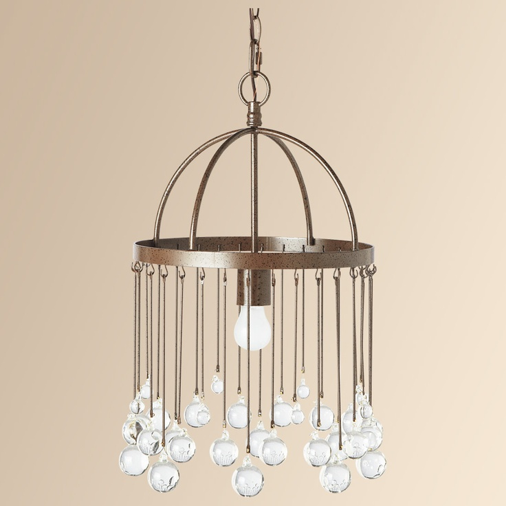 Sphere Glass Chandelier Arhaus Furniture 229 Over