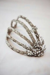 Hairpiece 1920 style ▪ vintage head piece | AMOUR A MOURE