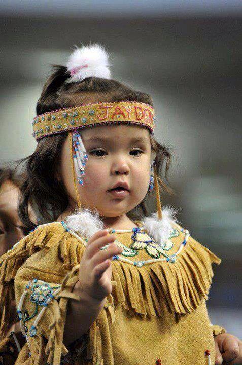 Cute American Indian girl