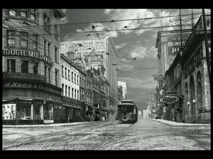 A simulated time-lapse [VIDEO] created with elements from thousands of pictures, each scene starts with a historical photograph from the Toronto Archives.