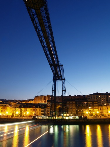 Picture of Puente Colgante Bridge, Portugalete, Spain | PlanetWare