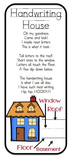 The Handwriting House (from What the Teacher Wants)