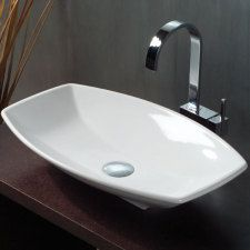 Studio Bagno 'Ca Tron' vitreous china above counter basin $599, Cass Brothers