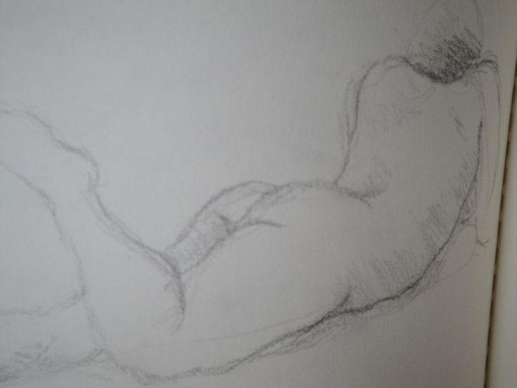 Life drawing. www.EricaRoss.com