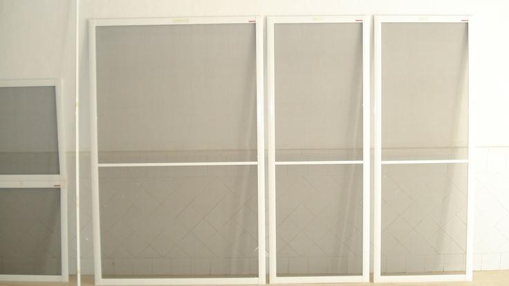 White Sliding Mosquito Screens