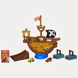 New Age Mama: Holiday Gift Guide - ANGRY BRIDS GO! JENGA PIRATE PIG ATTACK GAME Review & #Giveaway