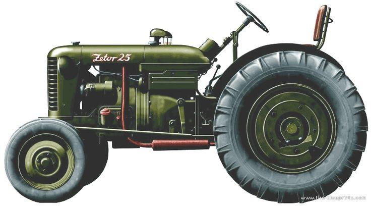 Zetor 25 - mecaniza
