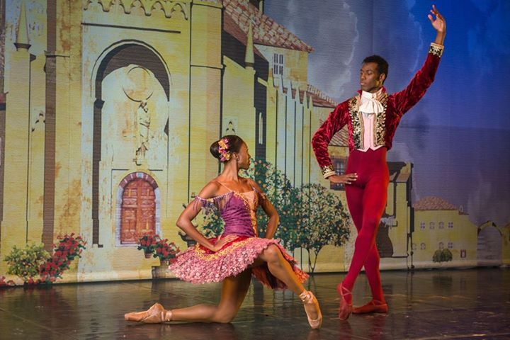 Joburg Ballet | 2015 | Don Quixote - Claudia Monja and Juan Carlos Osma | © Lauge Sorensen | via #BalletSynopsis