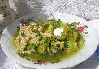 W Mojej Kuchni Lubię.. : wielowarzywna zupa z makaronem...