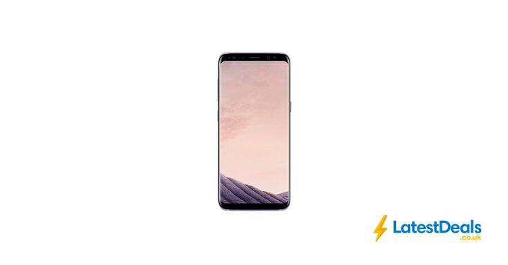 Samsung S8 64GB SIM-Free Smartphone - Orchid Grey, £511.48 at Amazon