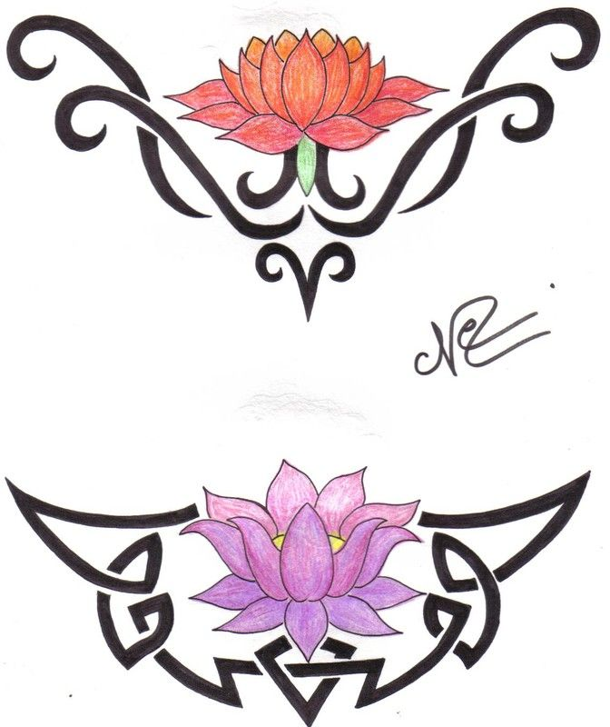 1000 id es sur le th me tatouage tribal de lotus sur pinterest tatouages de lotus dessins de - Tatouage fleur de lotus epaule ...