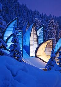 Amazing Snaps: Beautiful Swiss Architecture with Natural Landscape